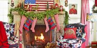 33 Christmas Mantel Decorations - Ideas for Holiday ...