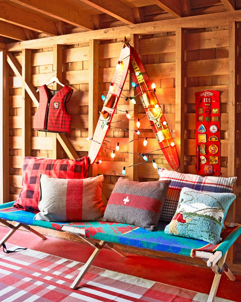 Christmas Decorating Cabin Style Billingsblessingbags