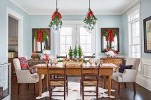 Kitchen Table Christmas Decorations Ideas