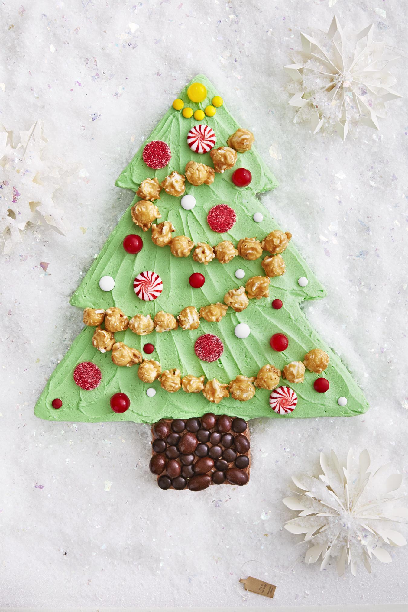 Best Christmas Tree Sheet Cake Recipe