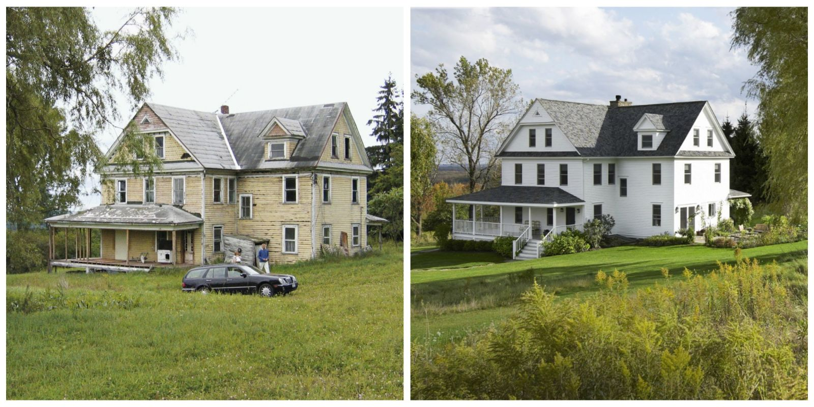 Renovating an Old House   Before and After Pictures of Home Restoration