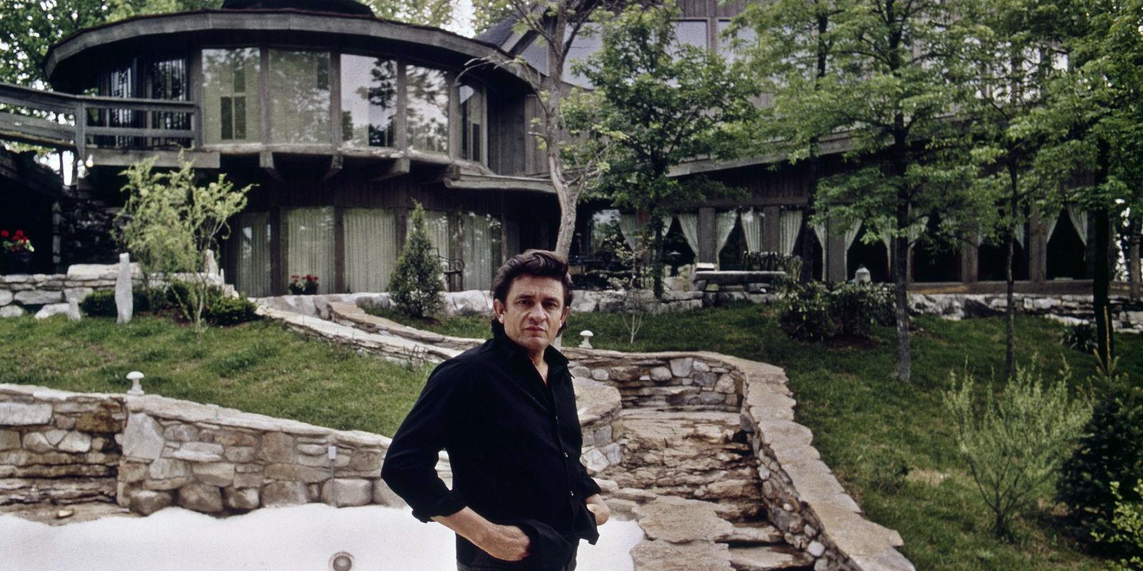 Johnny Cash Home for Sale  Johnny Cash and June Carter
