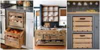 Wooden Crate Drawers - Why Every Country Kitchen Needs One ...
