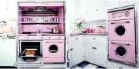 Pink Retro Kitchen Decorating Ideas