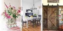 Ways Add Farmhouse Style Home - Rustic