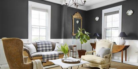 Interior design paint