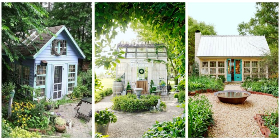 14 Whimsical Garden Shed Designs Storage Shed Plans & Pictures
