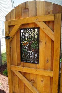 Decorative Garden Gates Decorative Garden Gates Wooden ...