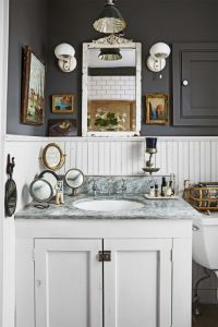 37 Rustic Bathroom Decor Ideas - Rustic Modern Bathroom ...