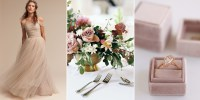 Dusty Rose is the Wedding Color of 2017 - Pink Wedding Ideas