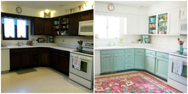 Old Home Kitchen Renovations Before and After