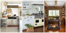 Farmhouse Country Kitchen Decorating Ideas