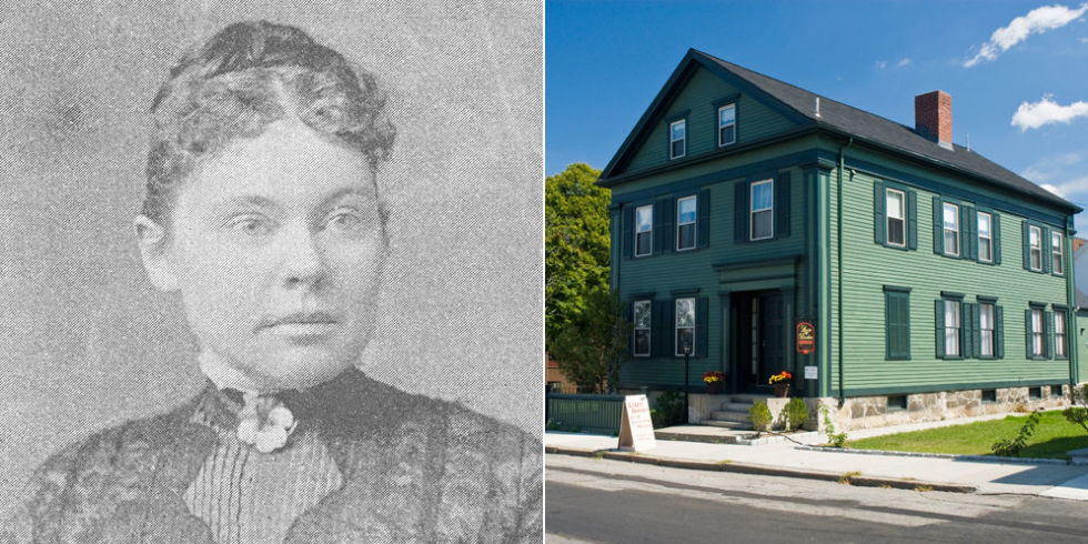 Image result for lizzie borden house