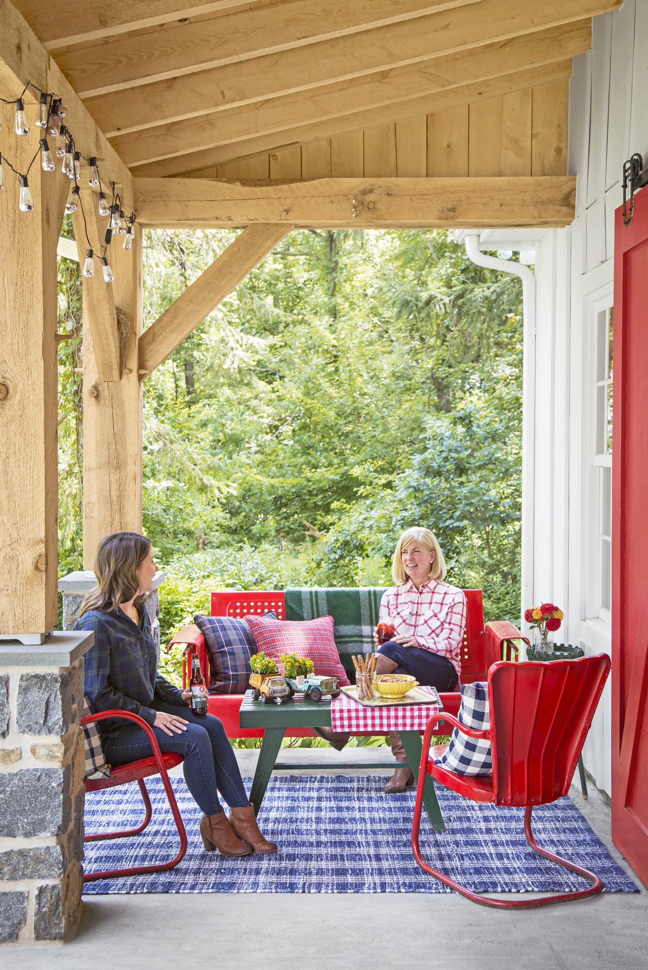 Take A Peek Inside This Party Barn Designed For Hosting