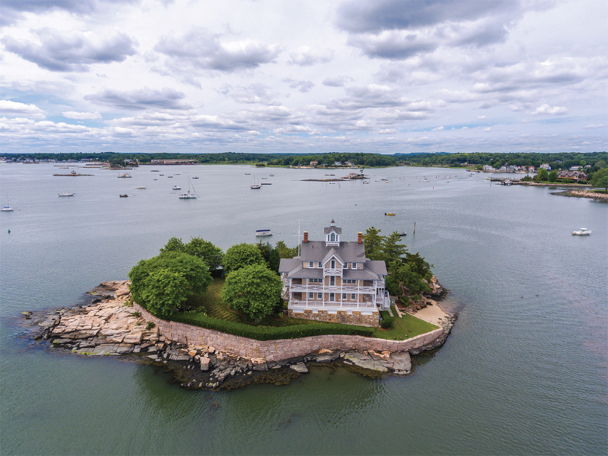 Theres A Magical Collection Of Private Islands For Sale Off The Coast Of Connecticut