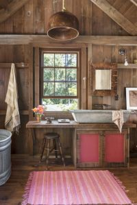 Country Rustic Bathroom | www.pixshark.com - Images ...