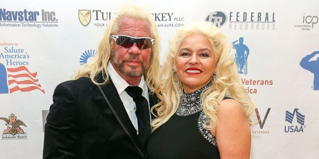 "Duane and Beth Chapman from ""Dog the Bounty Hunter"""