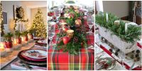 49 Best Christmas Table Settings - Decorations and ...