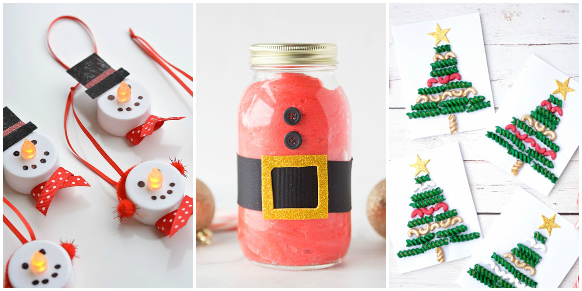 12 Easy Christmas Crafts For Kids To Make