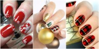 11 Best Christmas Nail Art Design Ideas 2017 - Easy ...