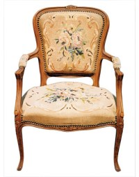 French Louis XVI-Style Armchair