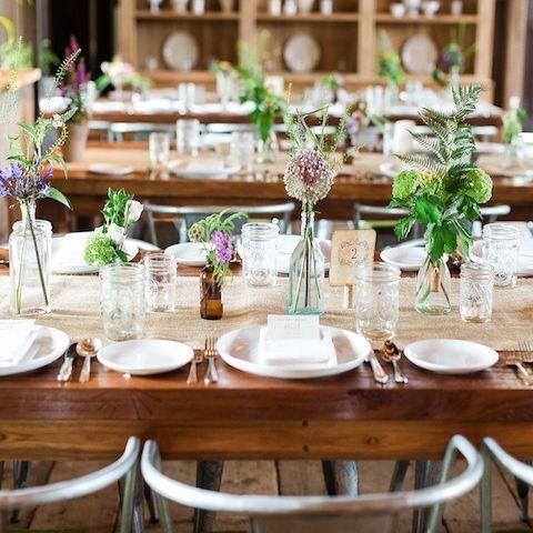 Country & DIY Wedding Ideas