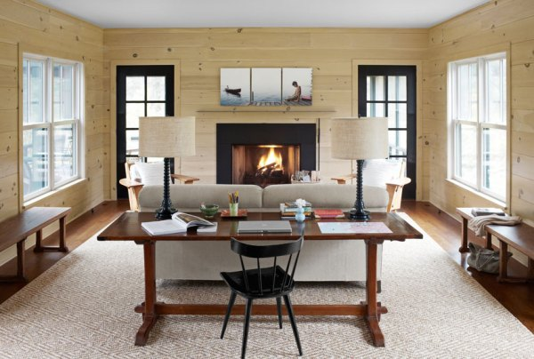 modern country living room decorating ideas Modern Country Decor Ideas - Modern Connecticut Vacation Home
