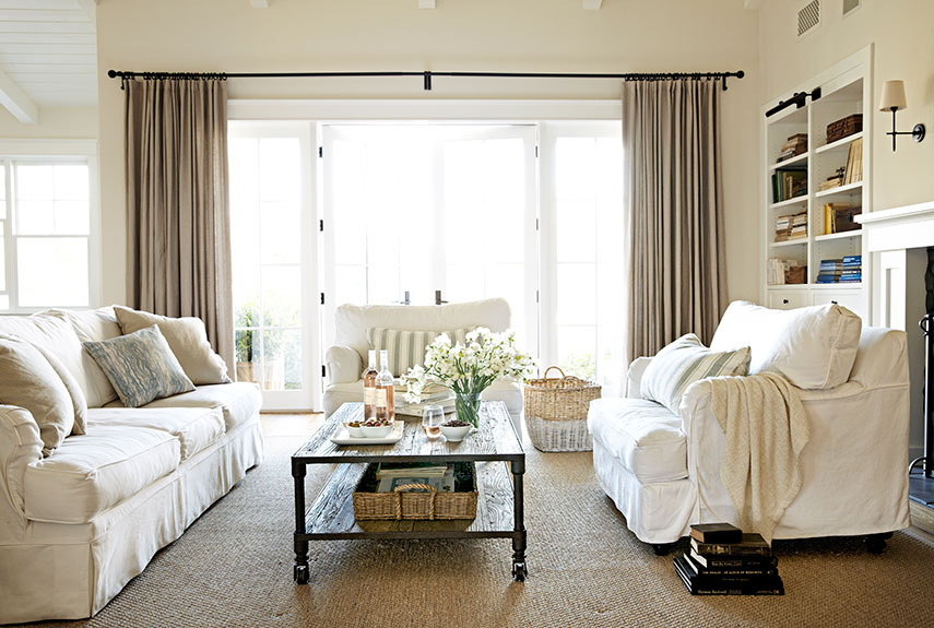 30 White Living Room Decor Ideas For Decorating