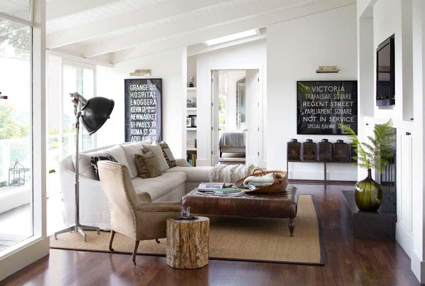 Open Floor Plan Decorating Modern Ranch House