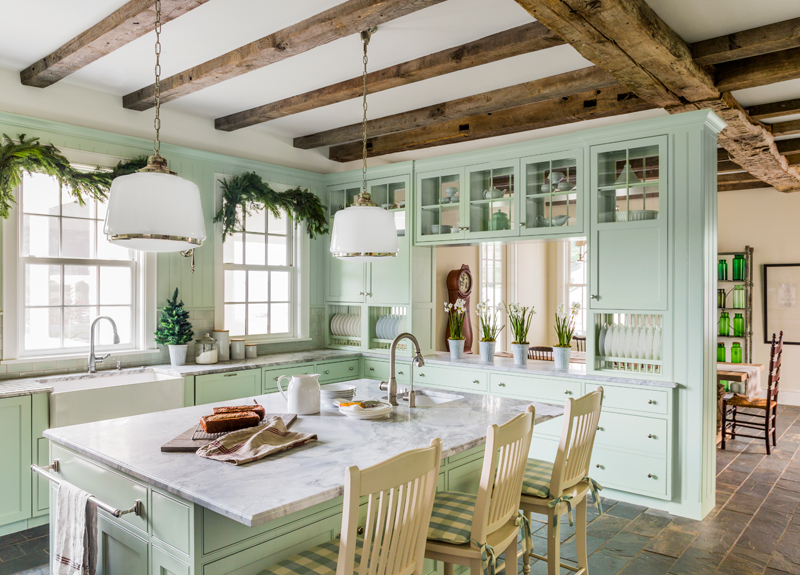 10 Ways To Add Farmhouse Charm To A New Kitchen