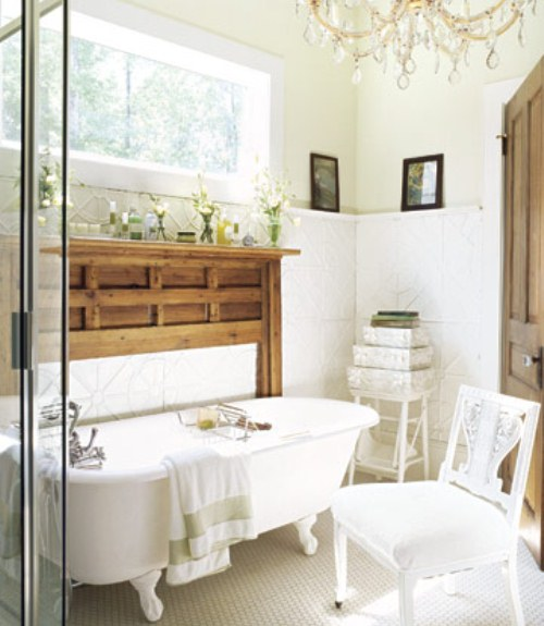 22 White Bathrooms  Decorating with White for Bathrooms