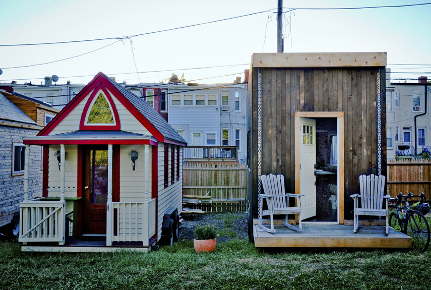 The Matchbox (pictured, right), designed by Jay Austin, lives at Boneyard Studios, a tiny house community founded in 2012 in Washington D.C. with a mission to promote the benefits of small house living and support the tiny house community. Clocking in at 140 square feet, the carbon-neutral, self-sustaining house features skylights and wide windows for passiving cooling and earthen plaster for humidity control.<br /><br /><br /><br /><br /><br /><br /><br /><br /><br /><br /><br /><br /><br /><br /><br /><br /><br /><br /><br /><br /><br /><br /><br /><br /><br /><br /><br /><br /><br /><br /> Look inside the Matchbox.