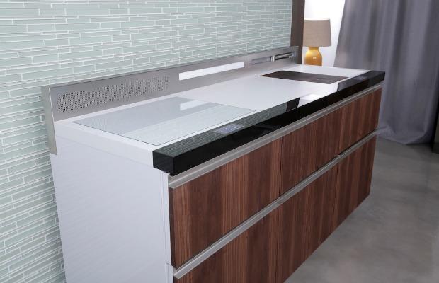 GE Micro Kitchen  Small Space Kitchen Design
