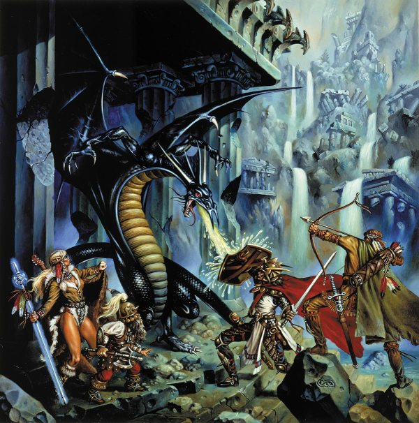 Clyde Caldwell Dungeons and Dragons