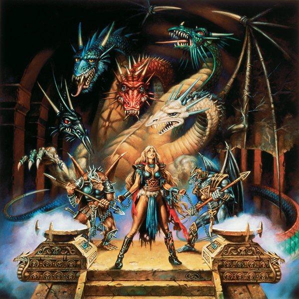 1985 Dragonlance Calendar Clyde Caldwell Online