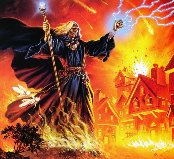 Clyde Caldwell Fire From Heaven