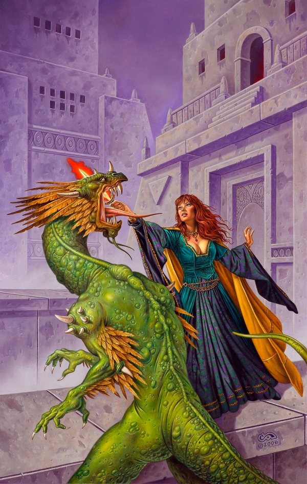 Lucy Blade Clyde Caldwell Online