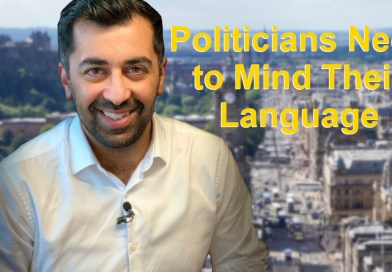 Humza Yousaf says Politicians Need to Mind Their Language