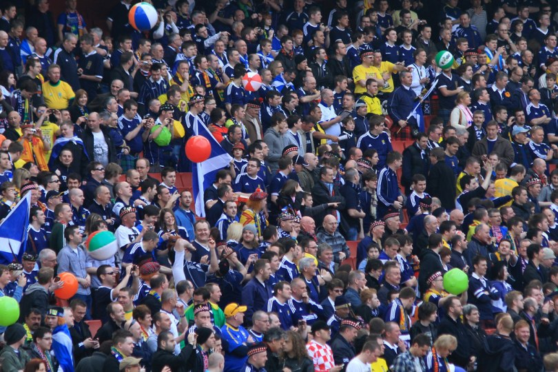 6000 fans allowed in Glasgow Green to view Scotland's first Euro games in 23 years