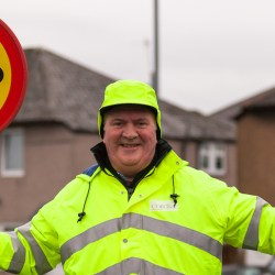 From Rolls Royce to Lapland for Cardonald Lollypop Man