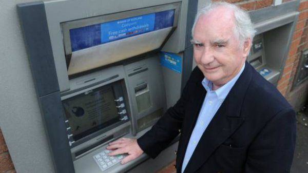 Inventor of the ATM and PIN Technology honoured by neighbor