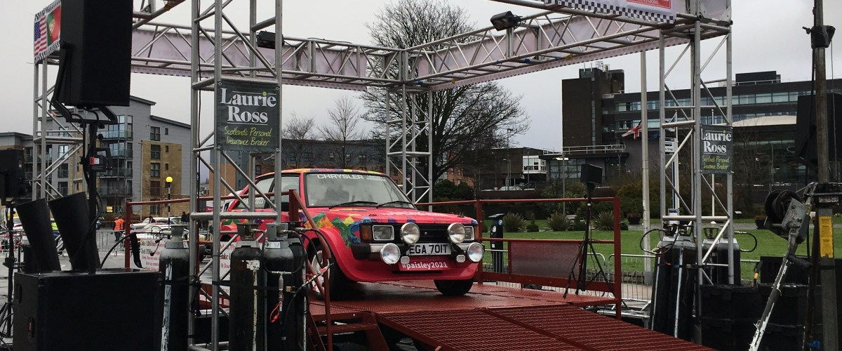 Paisley hosts start leg for Monte Carlo race 5th year in a row
