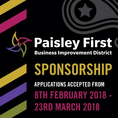 Paisley First Sponsorship scheme