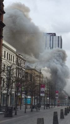 Massive blaze at Victoria's nightclub in Sauchiehall Street  By Stephen MCcabe and Chloe Duffy