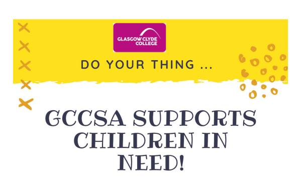 Glasgow Clyde College fundraising to support Children In Need 2018
