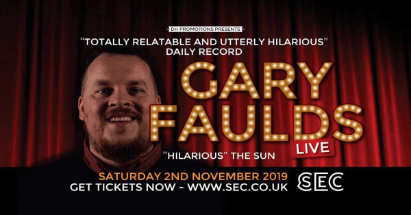 Glasgow comedian Gary Faulds on the highs of his success