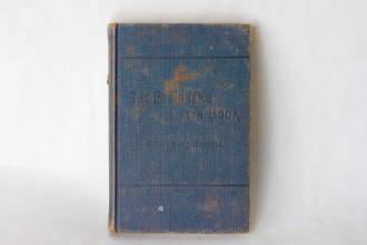 Hilda (Murray) Beer School Book - (Donated by Beer Family)
