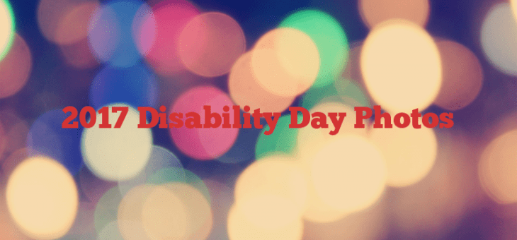 2017 Disability Day Photos