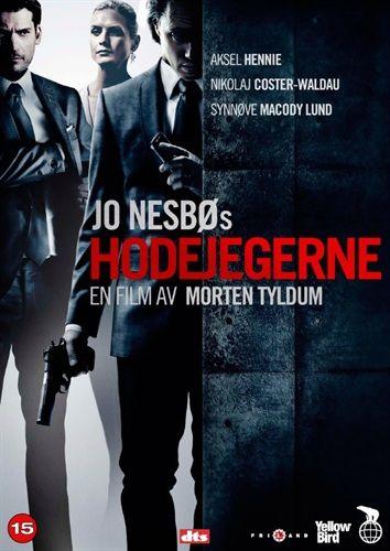 De Noorse DVD omslag van Hodejegerne