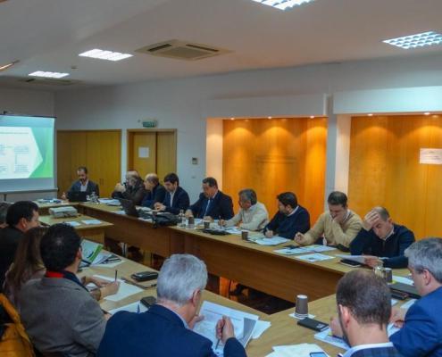 Reunião de Trabalho da Associação de Municípios Cova da Beira
